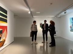 """2020 – Galleria Civica Trento. Inaugurazione mostra """"Ciò che vedo"""""""
