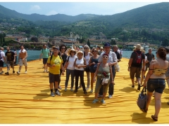 Floating Piers   giugno 2016