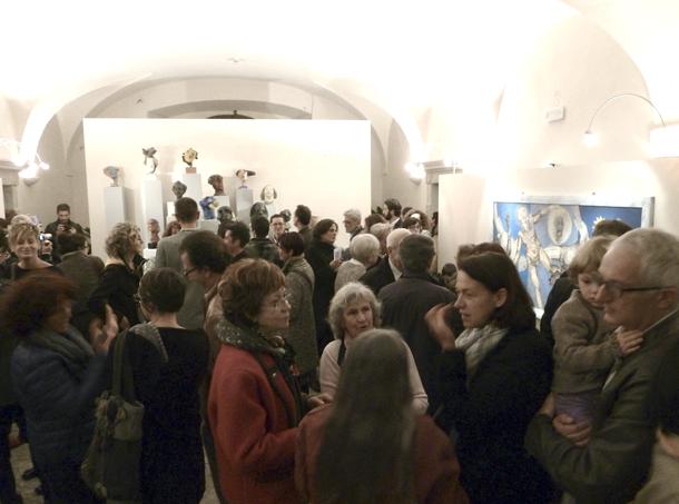 Inaugurazione evento »MATERIA LIEVE« - Mauro De Carli